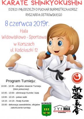 IV otwarty turniej Karate Shinkyokushin!