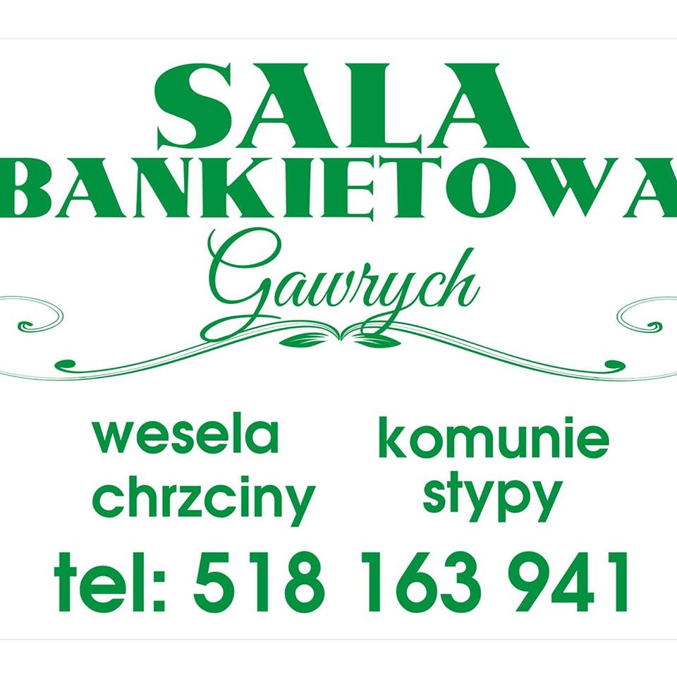 Sala bankietowa Gawrych